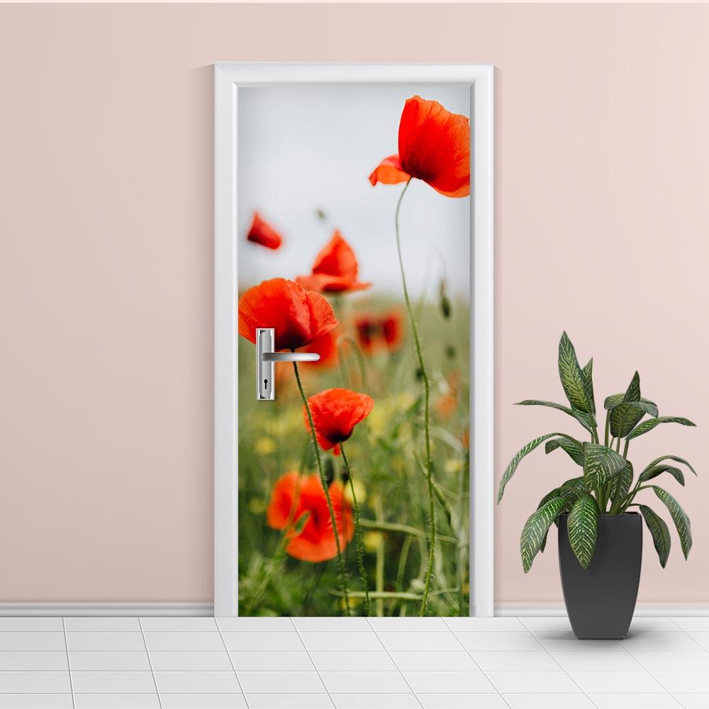 Adesivo de Porta Floral 2