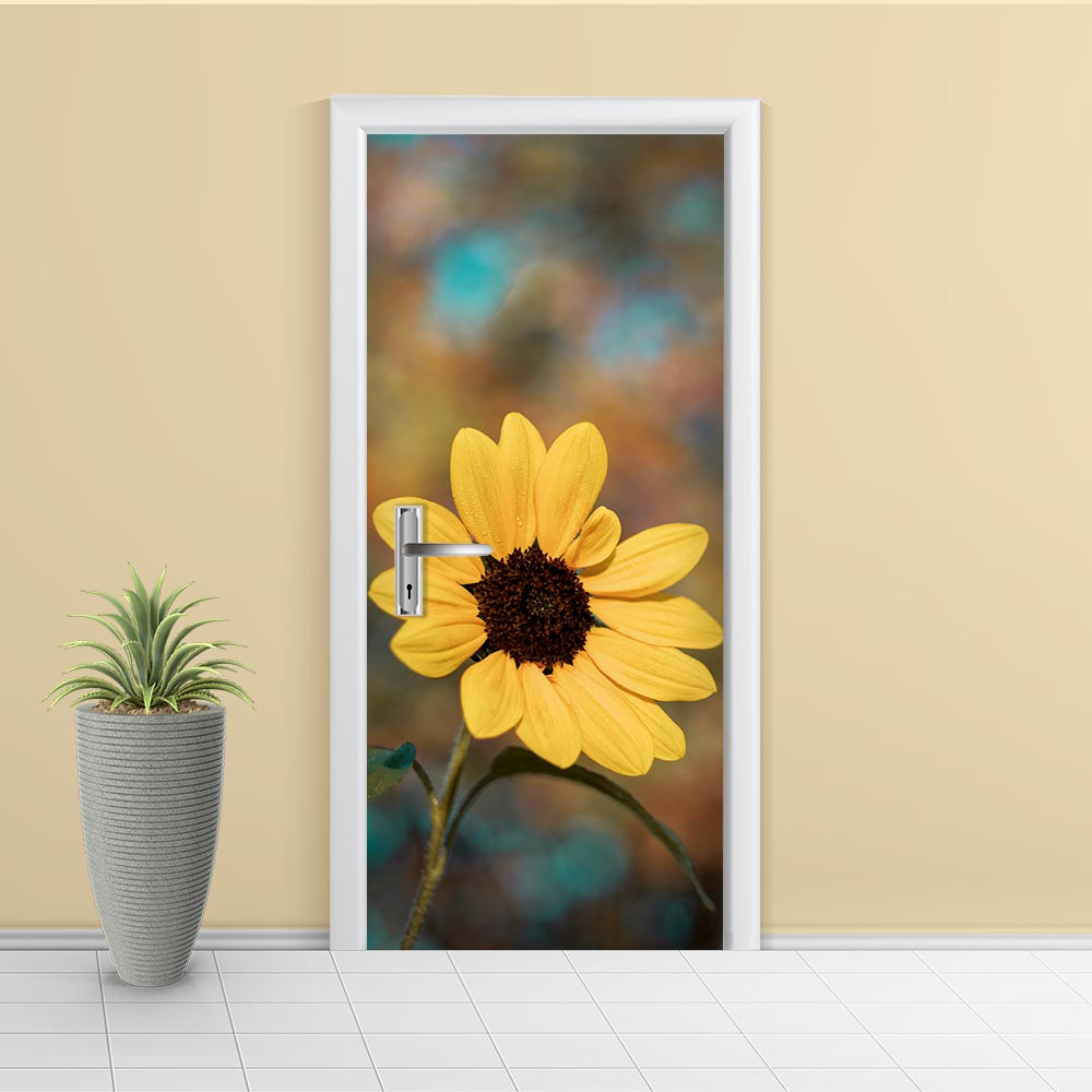 Adesivo de Porta Floral 3