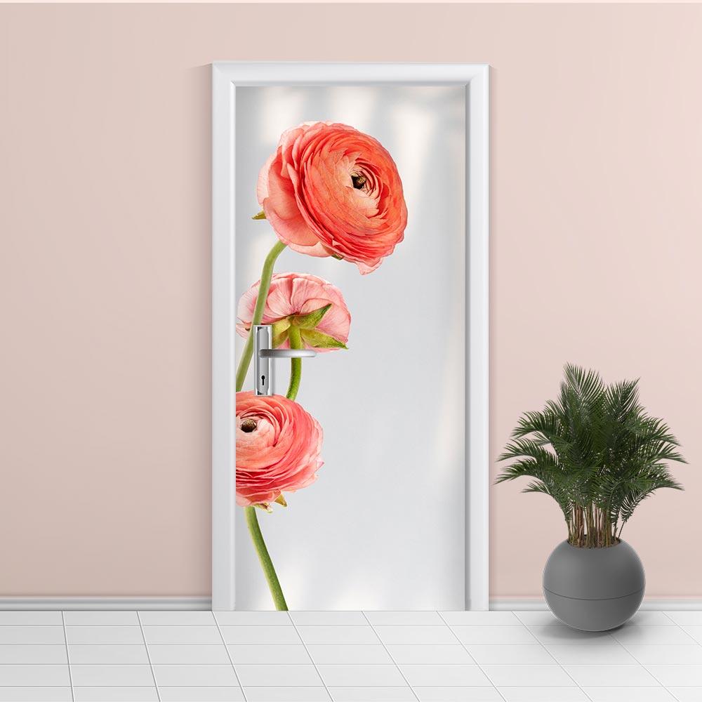 Adesivo de Porta Floral 7