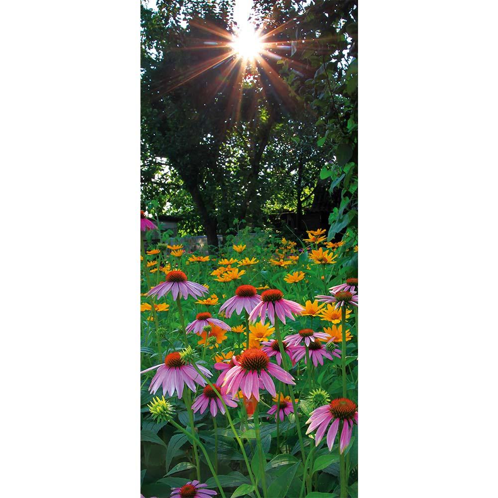 Adesivo de Porta Floral 9