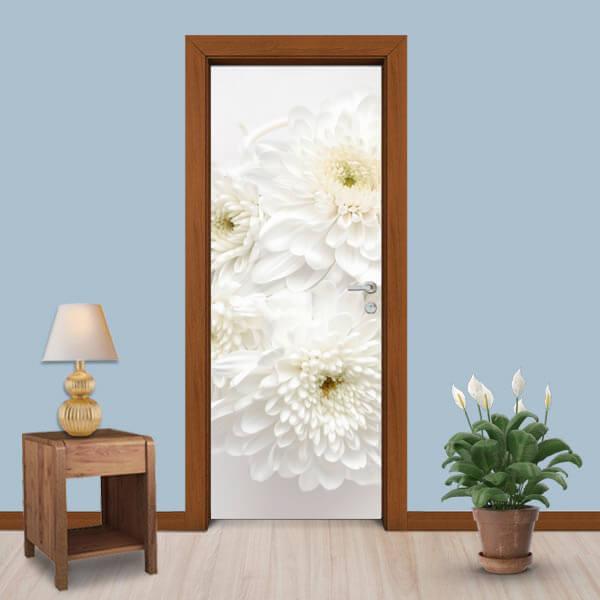 Adesivo de Porta Flores 1