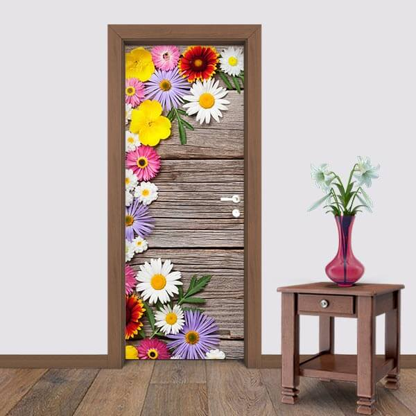 Adesivo de Porta Flores 7