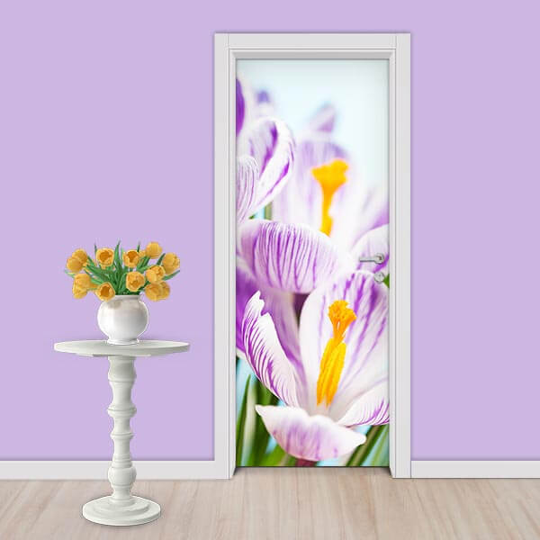 Adesivo de Porta Flores 4