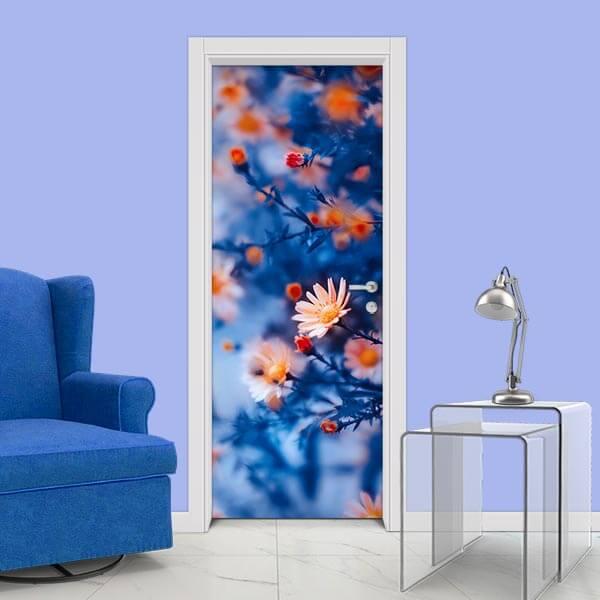 Adesivo de Porta Flores 5