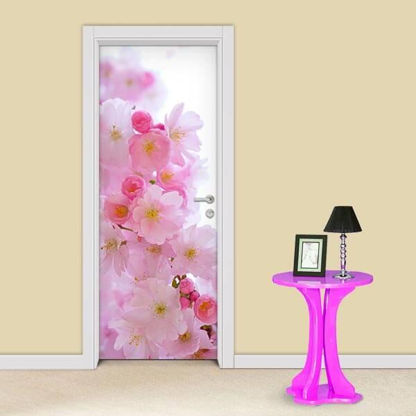 Adesivo de Porta Flores Cerejeira 2