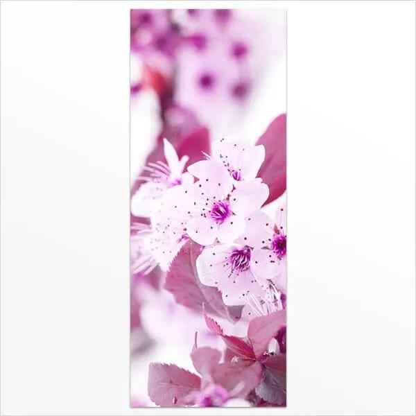 Adesivo de Porta Flores Cerejeira 3