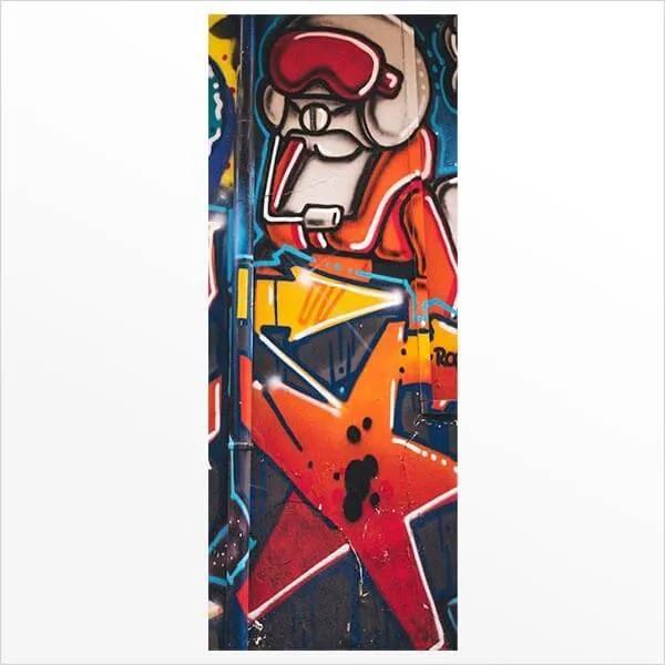 Adesivo de Porta Grafite 6