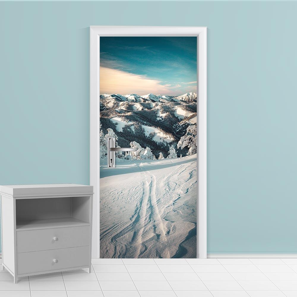 Adesivo de Porta Inverno 1