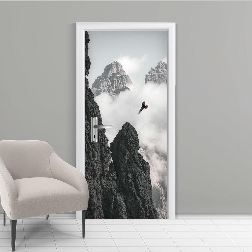 Adesivo de Porta Inverno 5