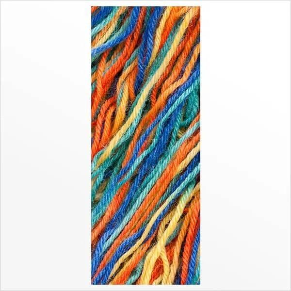 Adesivo de Porta Lã Colorida
