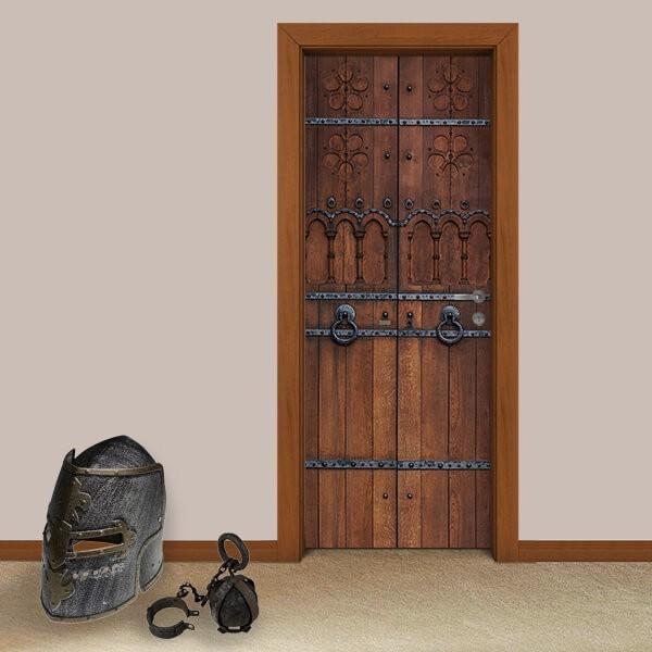 Adesivo de Porta Medieval 3