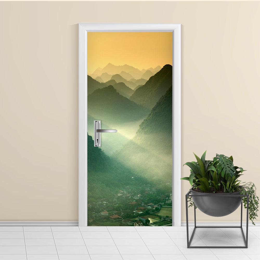 Adesivo de Porta Montanha 3