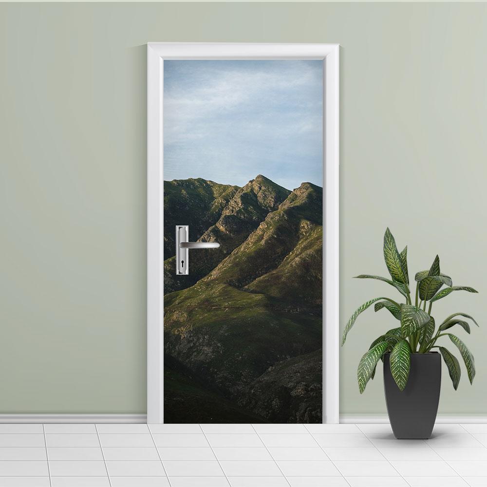 Adesivo de Porta Montanha 5