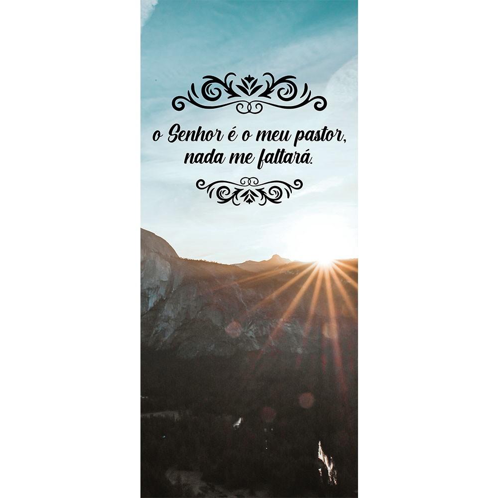 Adesivo de Porta O Senhor é meu Pastor