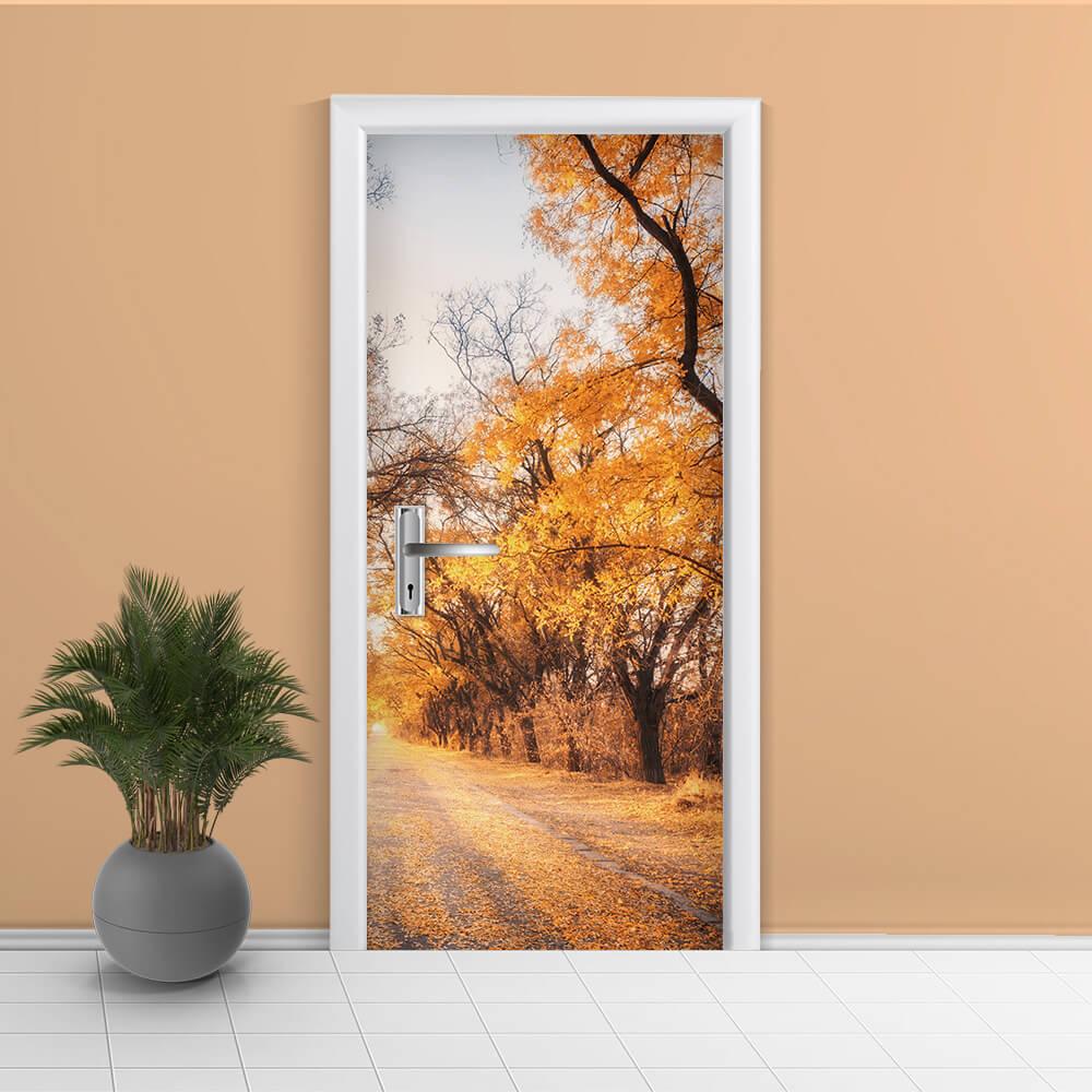 Adesivo de Porta Outono 1