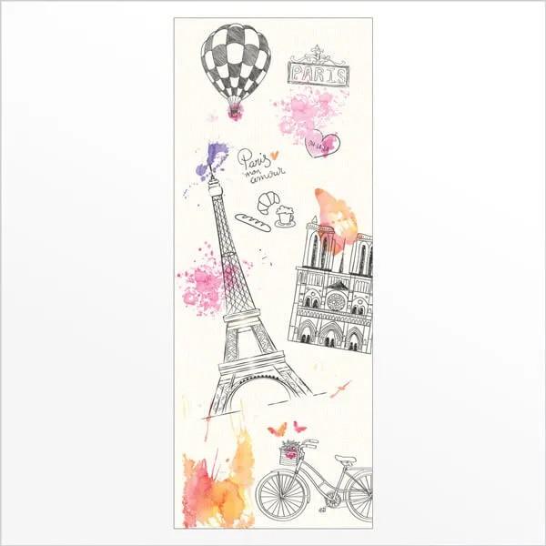 Adesivo de Porta Paris 1