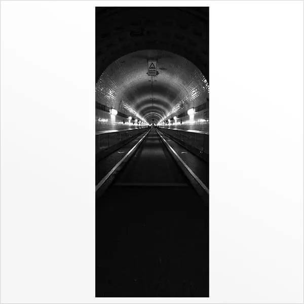Adesivo de Porta Tunel 1