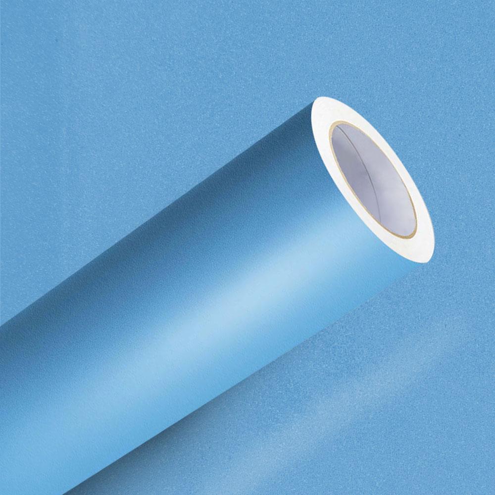 Adesivo para Envelopamento Azul Maragogi Jateado