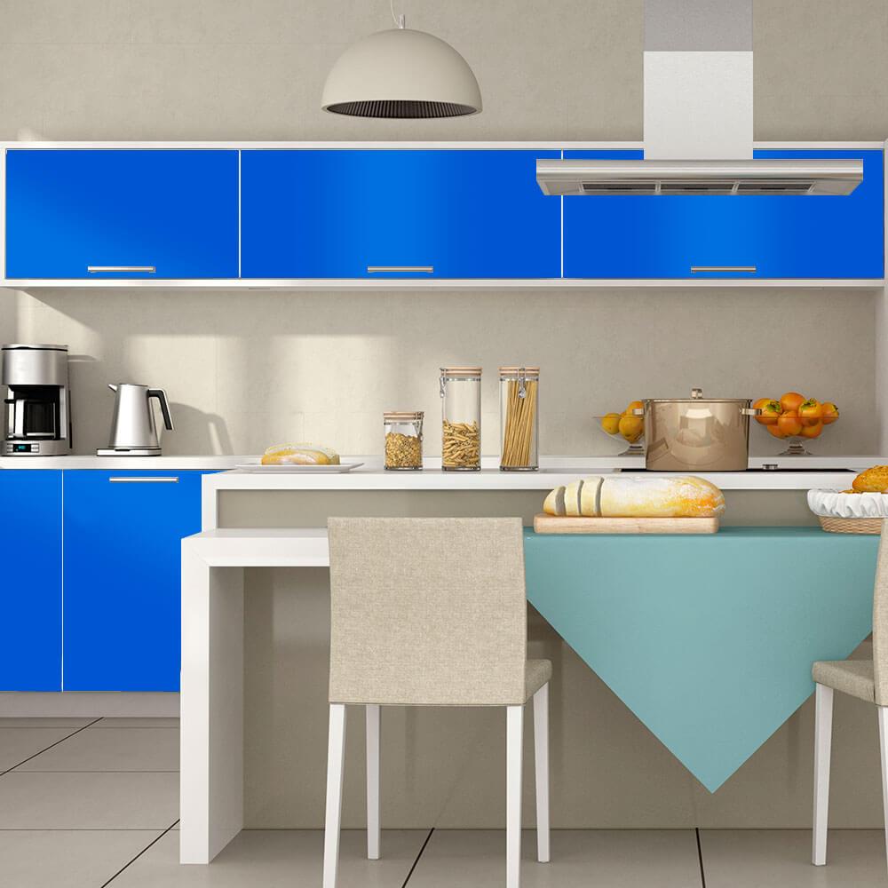 Adesivo Para Envelopamento Alltak Brilho Premium Azul Celeste