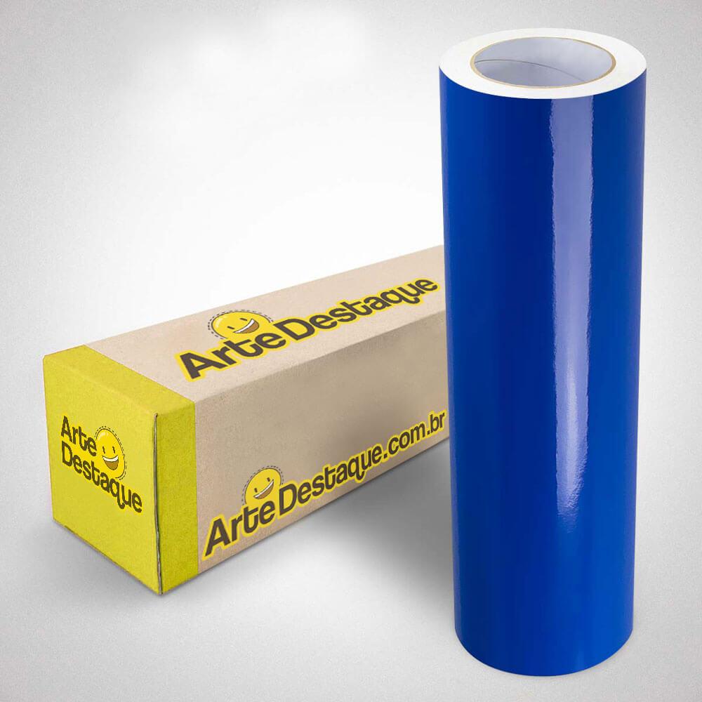 Adesivo Para Envelopamento Alltak Brilho Premium Azul Médio
