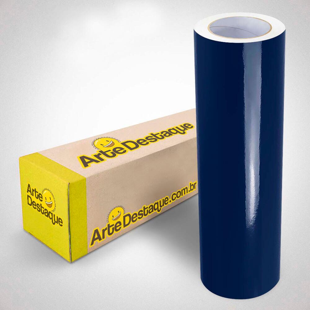 Adesivo Para Envelopamento Alltak Brilho Premium Azul Noturno
