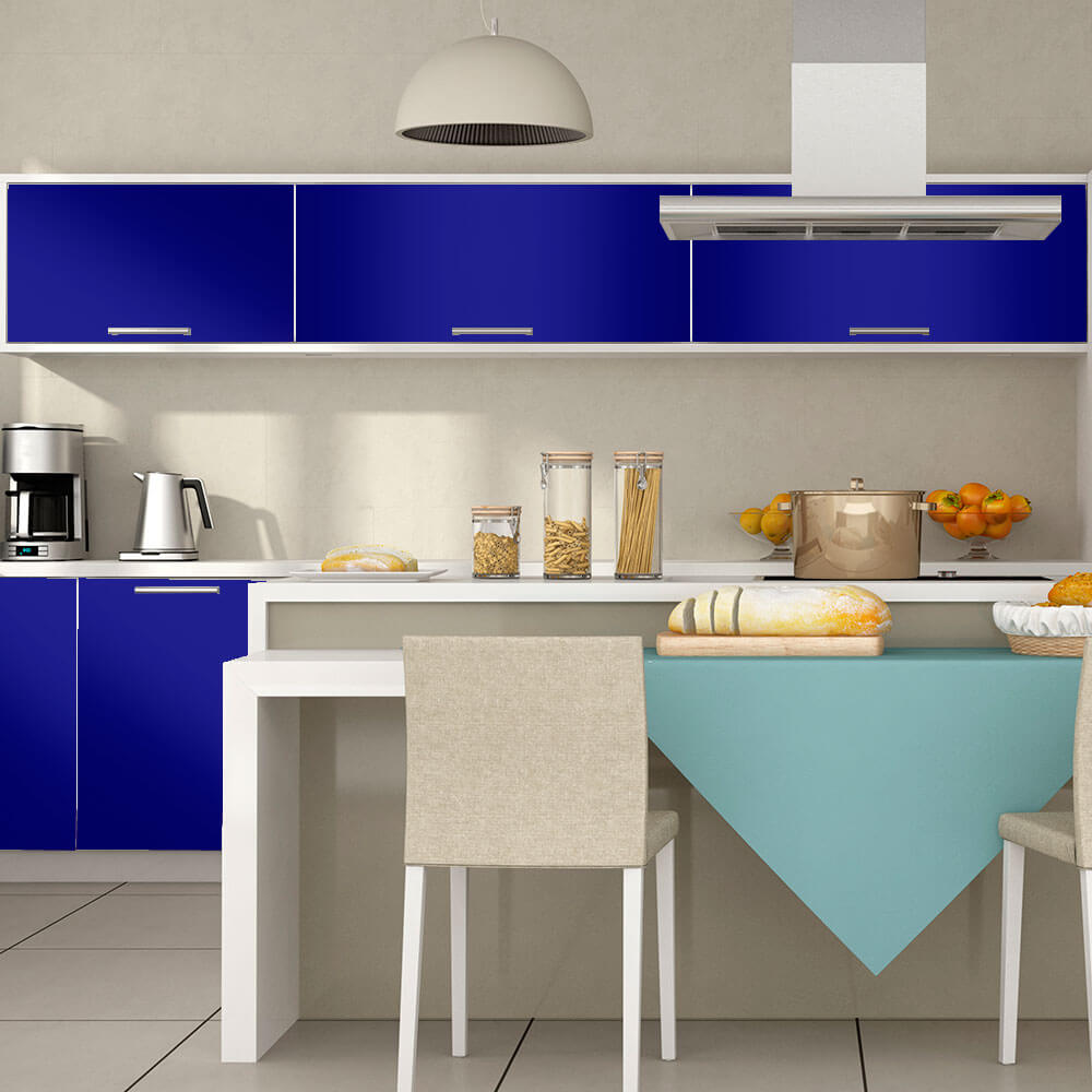 Adesivo Para Envelopamento Brilho Premium Azul Royal