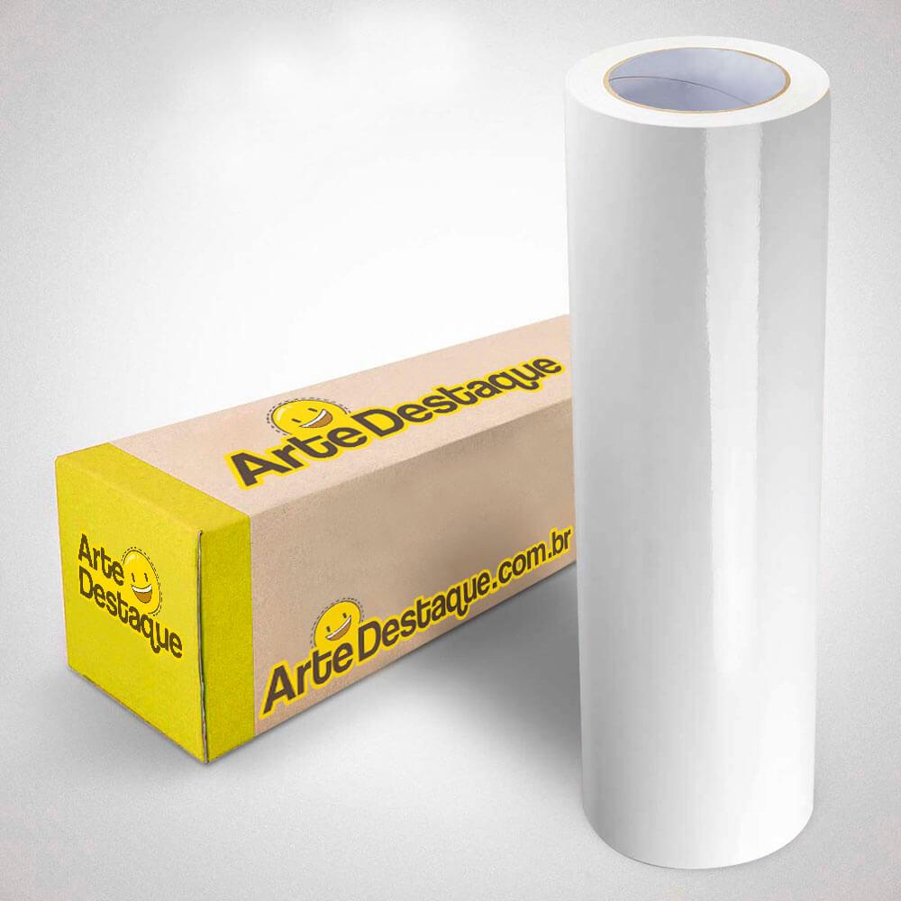 Adesivo Para Envelopamento Brilho Premium Branco