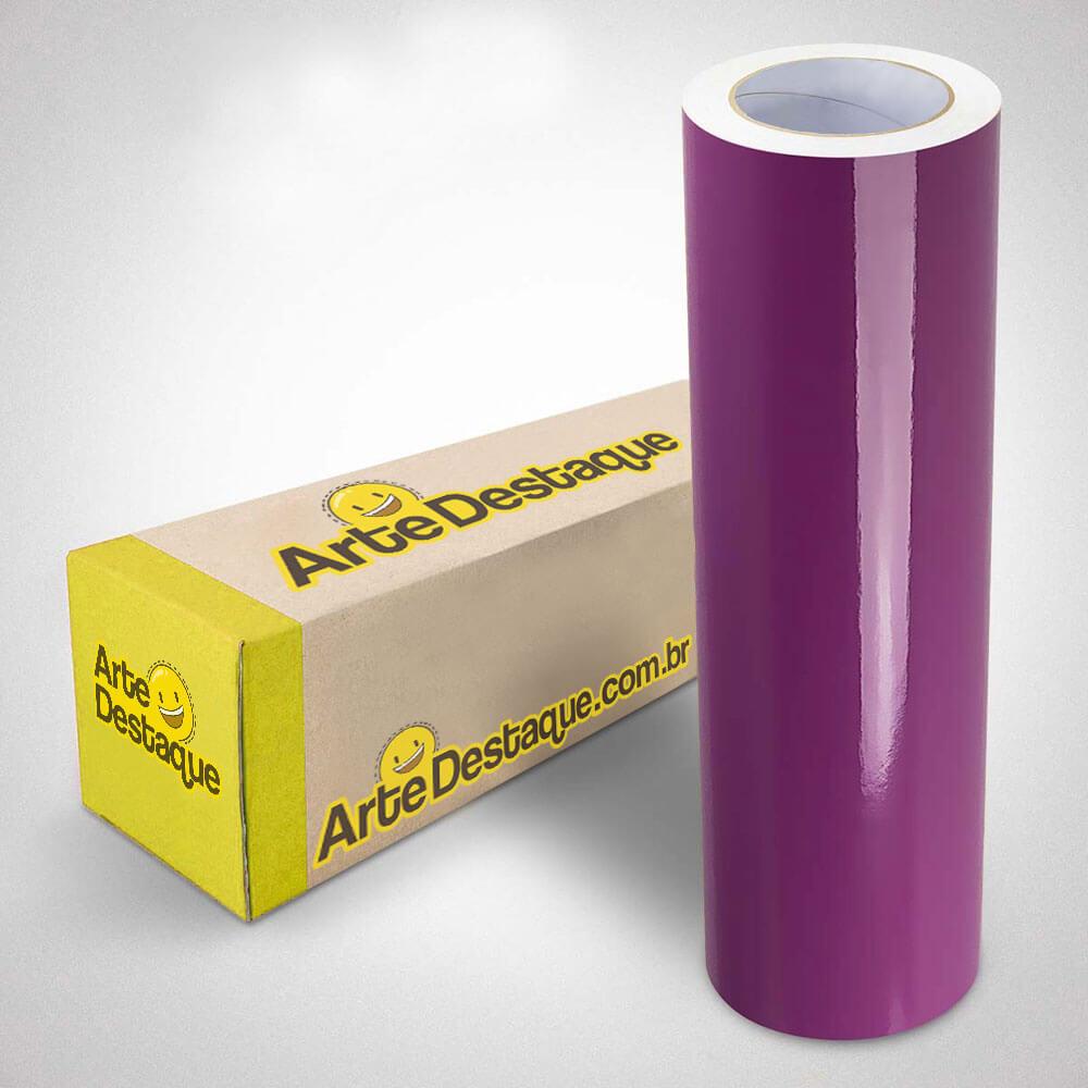 Adesivo Para Envelopamento Brilho Premium Lilás 2