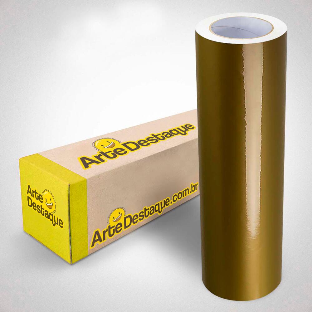 Adesivo Para Envelopamento Alltak Brilho Premium Ouro