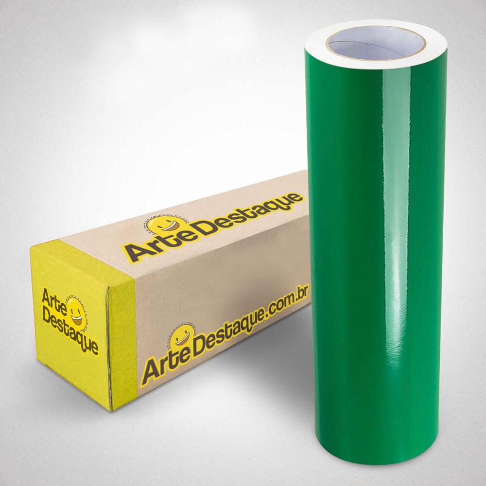 Adesivo Para Envelopamento Brilho Premium Verde Bandeira