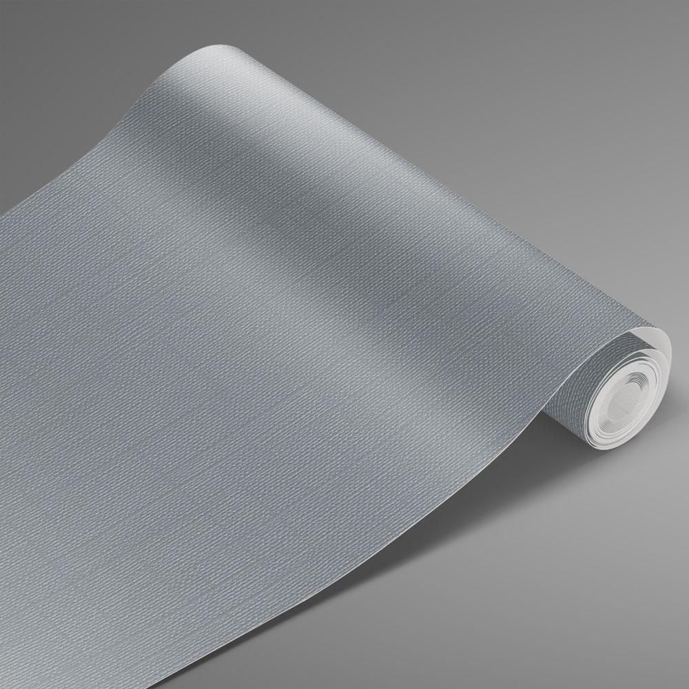 Adesivo Para Envelopamento Telado Cinza