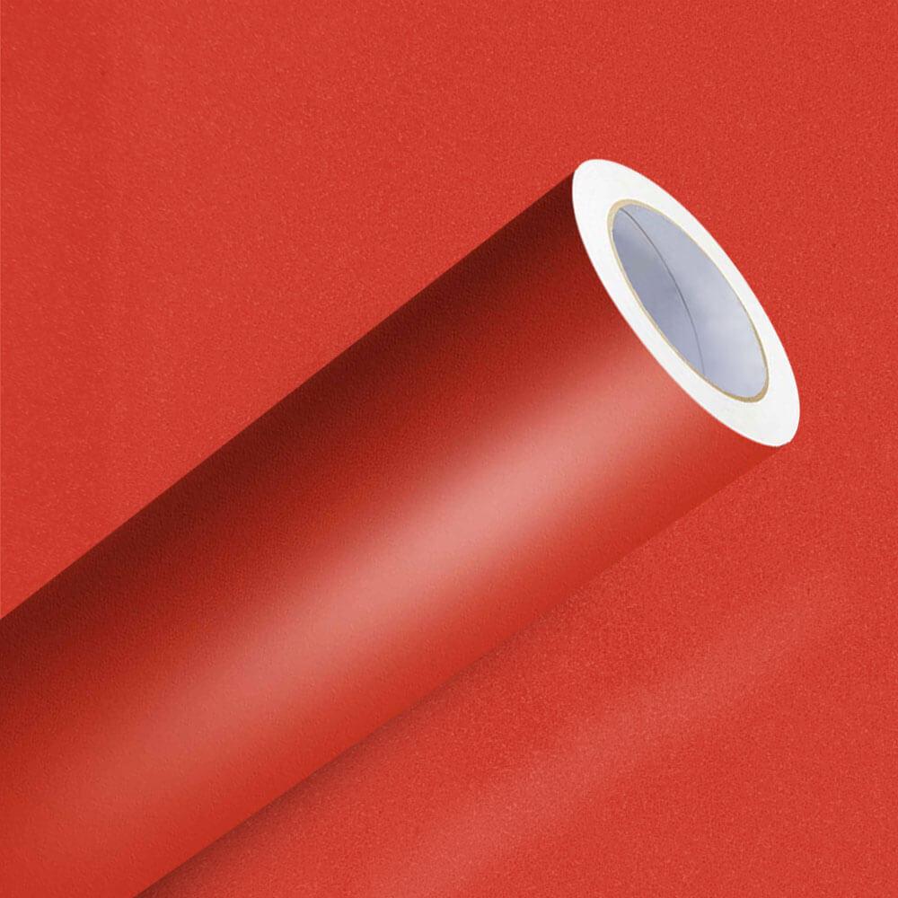 Adesivo Para Envelopamento Vermelho Malagueta Jateado