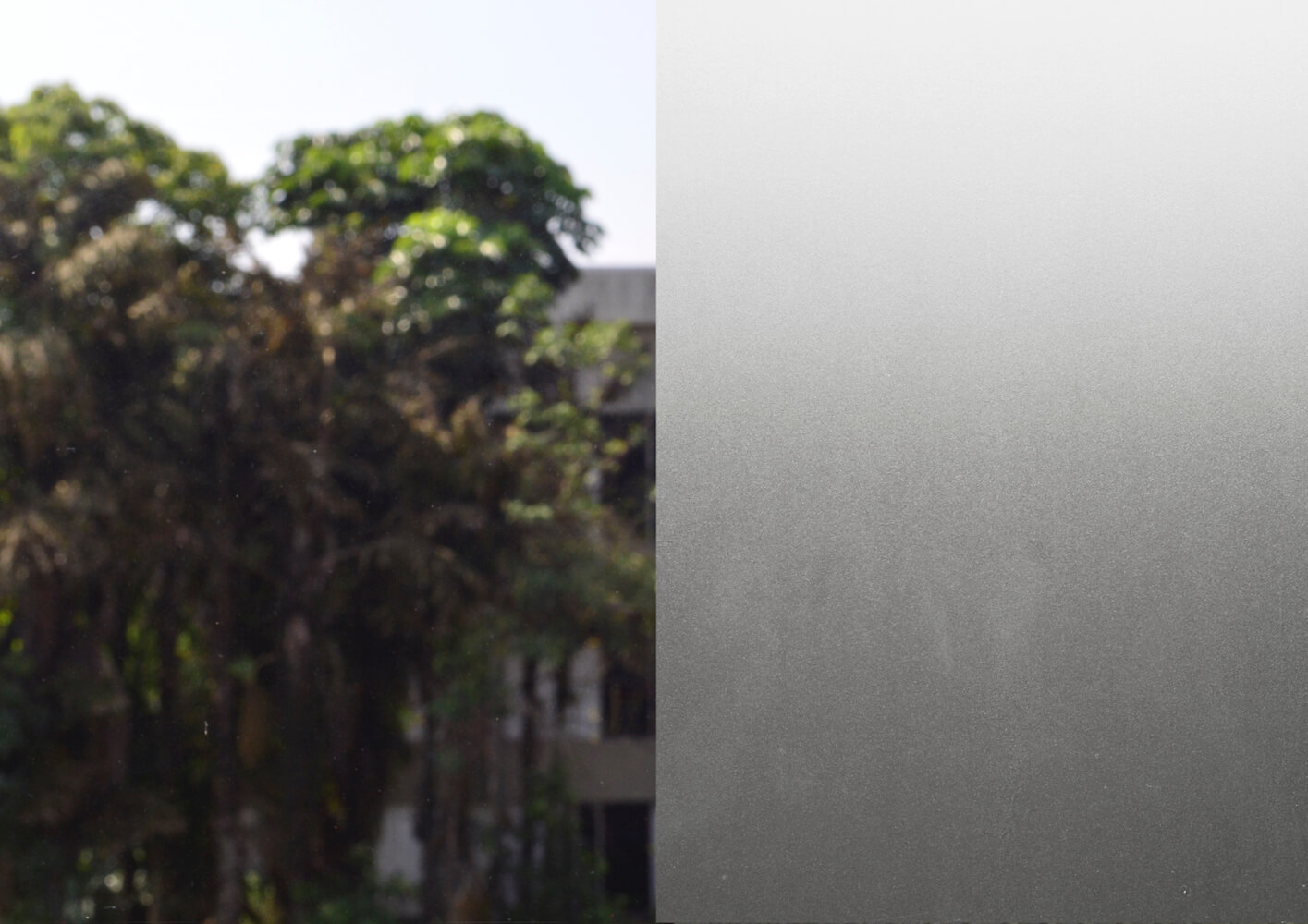 Adesivo para Vidro Transparente Color Jateado