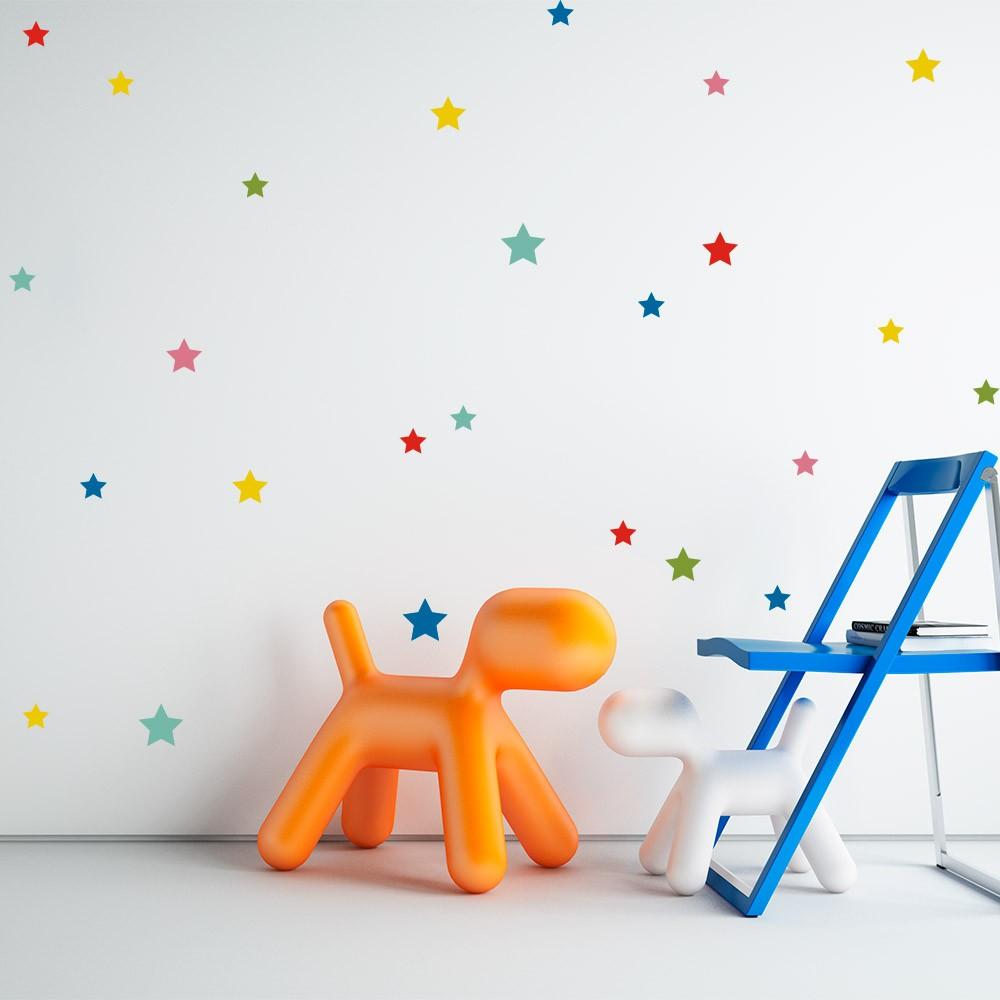 Kit de Adesivos Infantis Estrelas 3