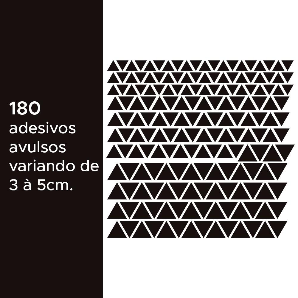 Kit de Adesivos Infantis Triângulos