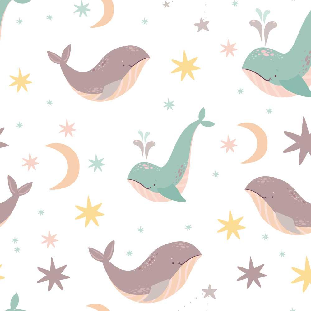 Papel de Parede Baleias