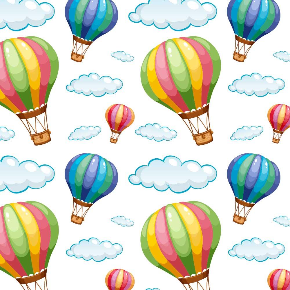 Papel de Parede Infantil - Balões