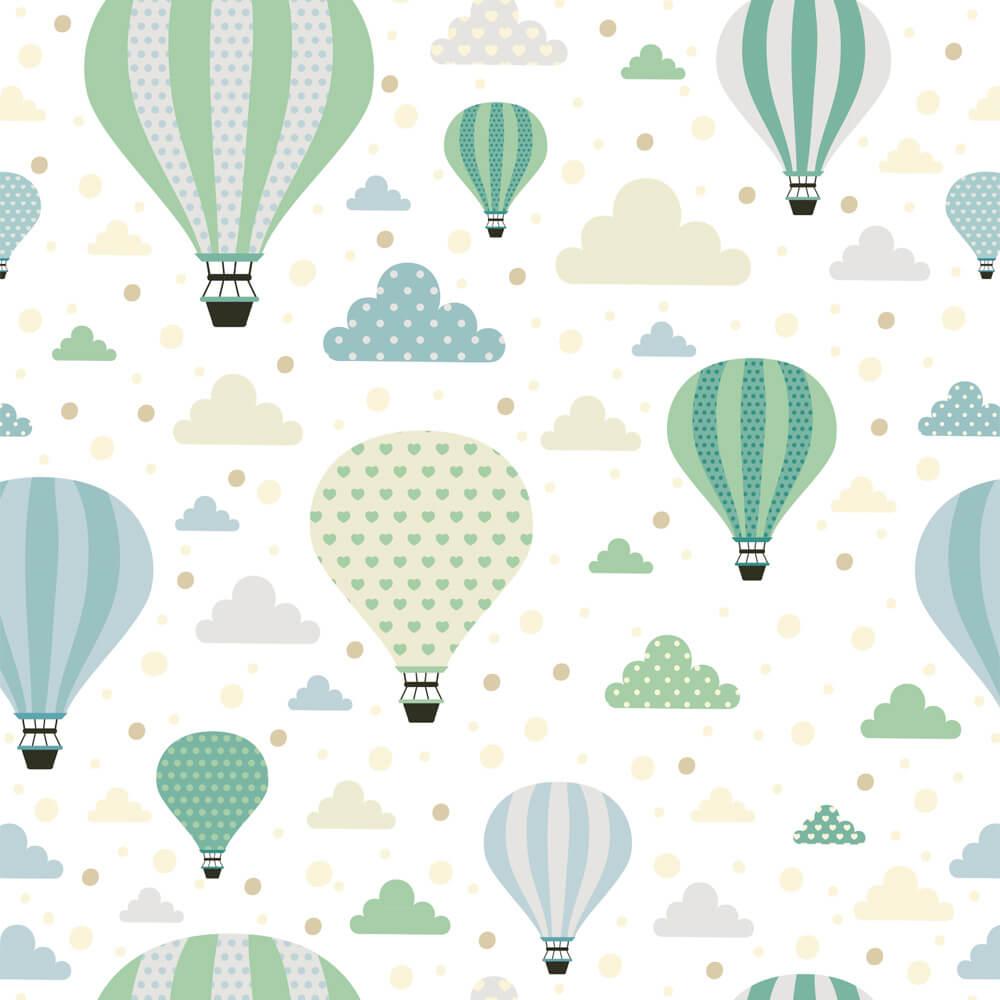 Papel de Parede Balões 2