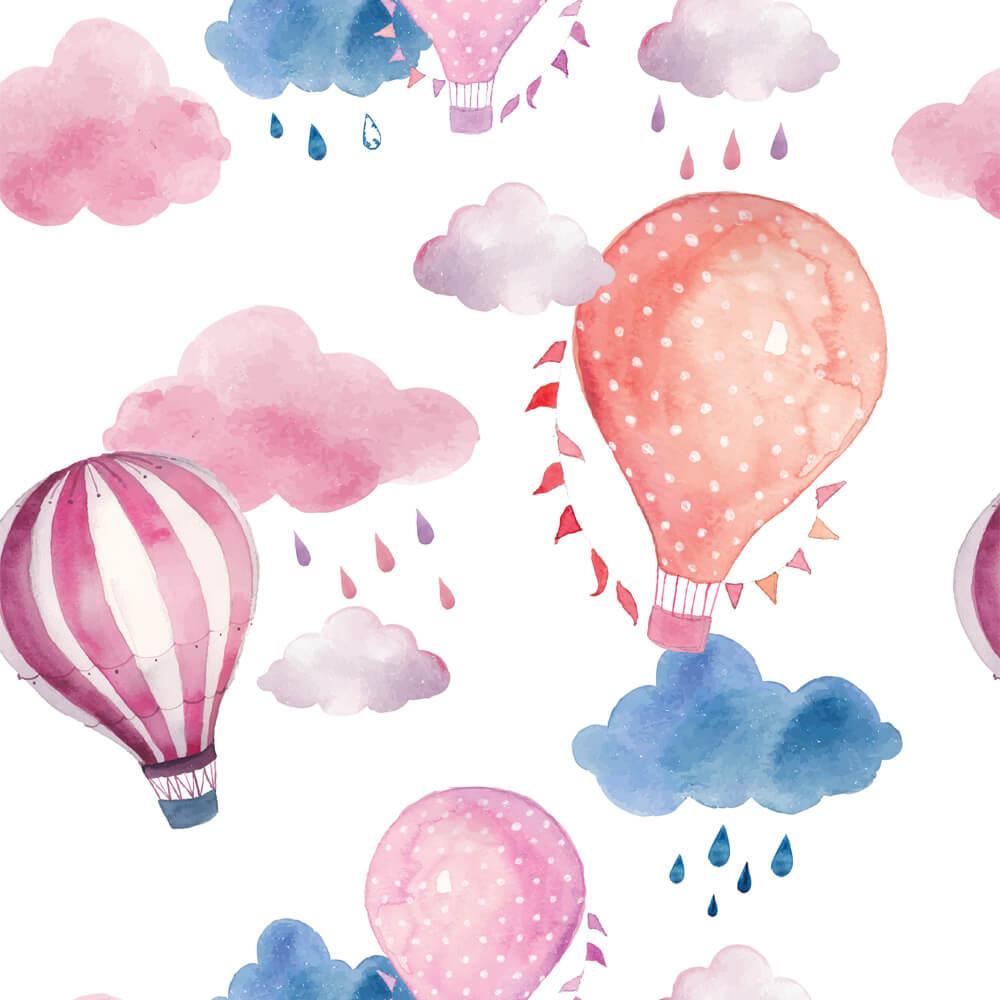 Papel de Parede Balões 3