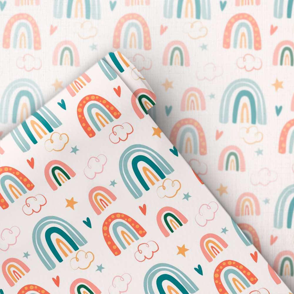 Papel de Parede Infantil - Boho Rainbow 1