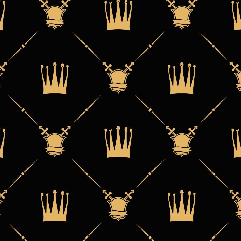 Papel de Parede Coroa e Escudo