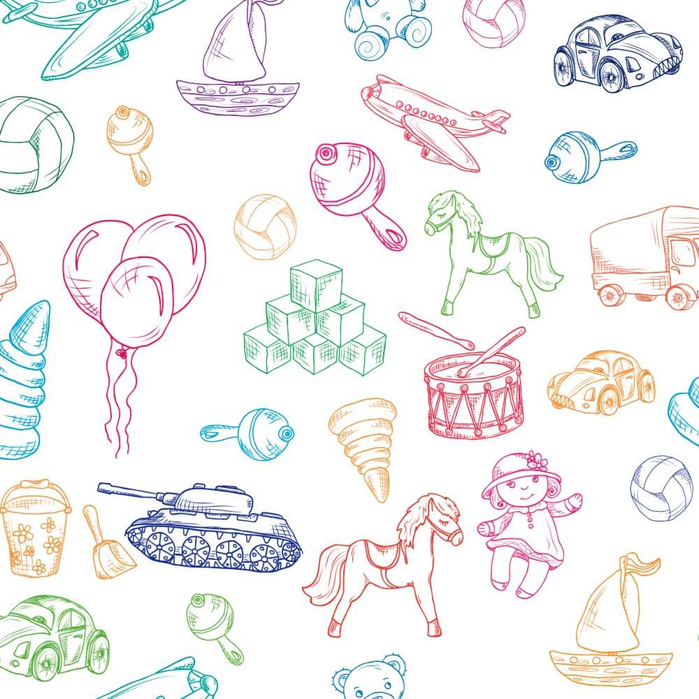 Papel de Parede Infantil - Desenhos Infantis 2