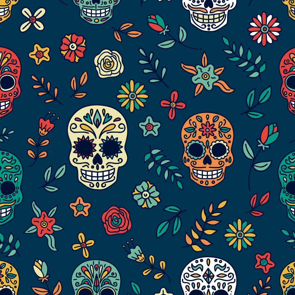 Papel de Parede Dia de Los Muertos