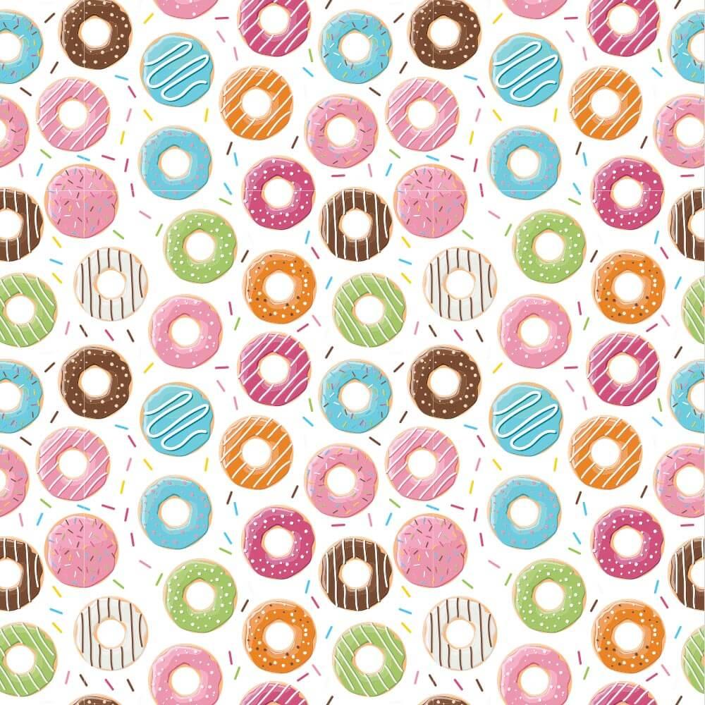 Papel de Parede Infantil - Donuts 2
