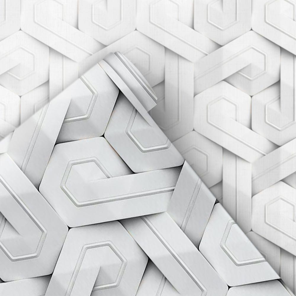 Papel de Parede 3D - Entrelaçado 3D