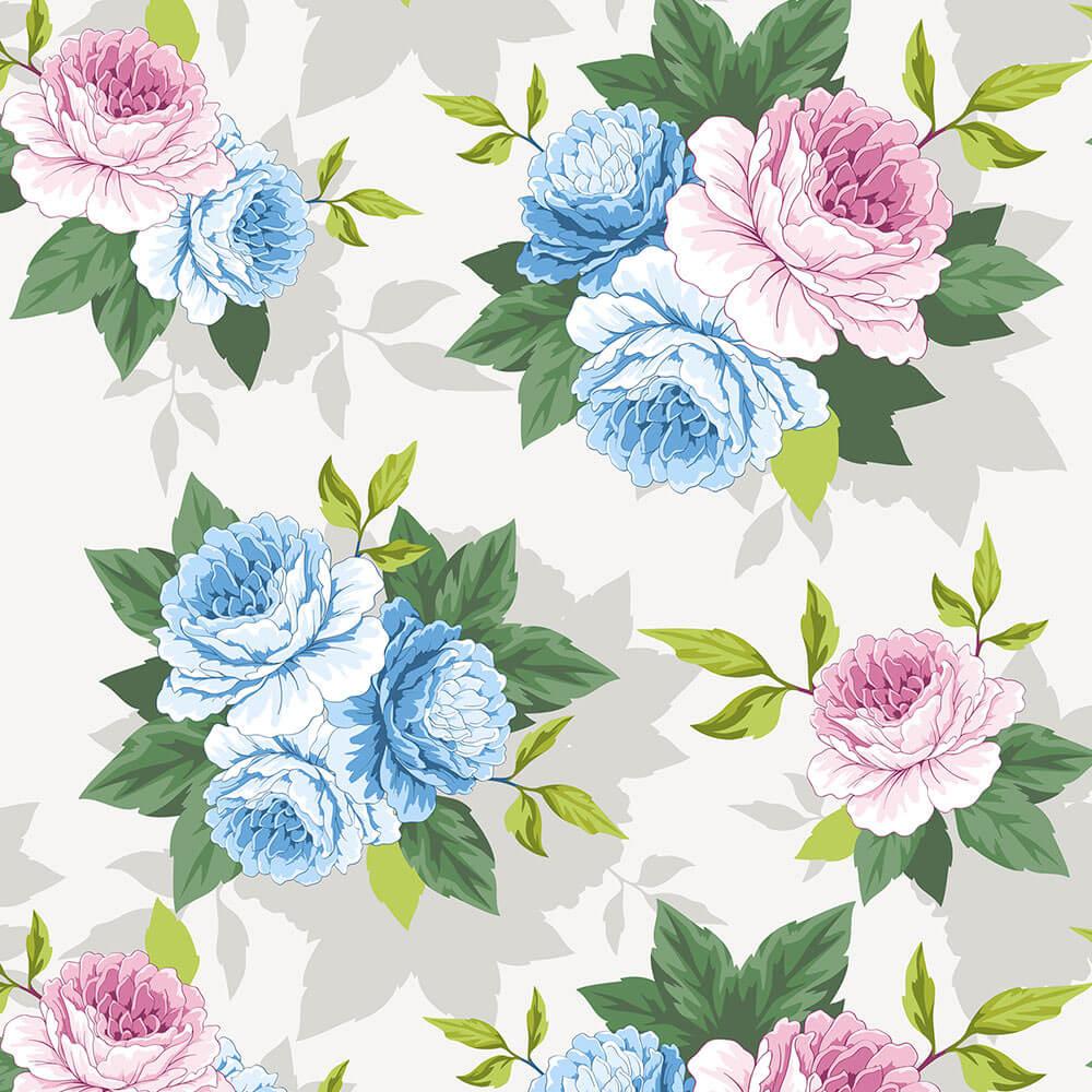 Papel de Parede Floral 2a