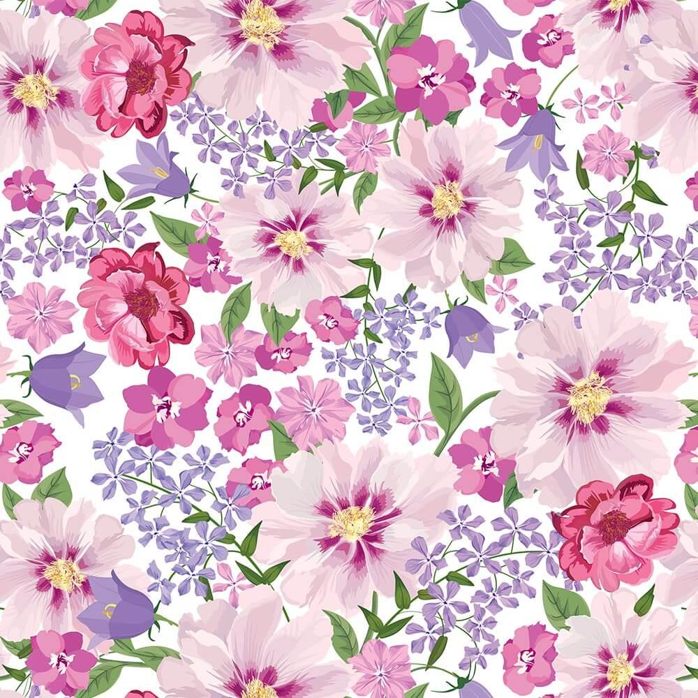 Papel de Parede Floral 5
