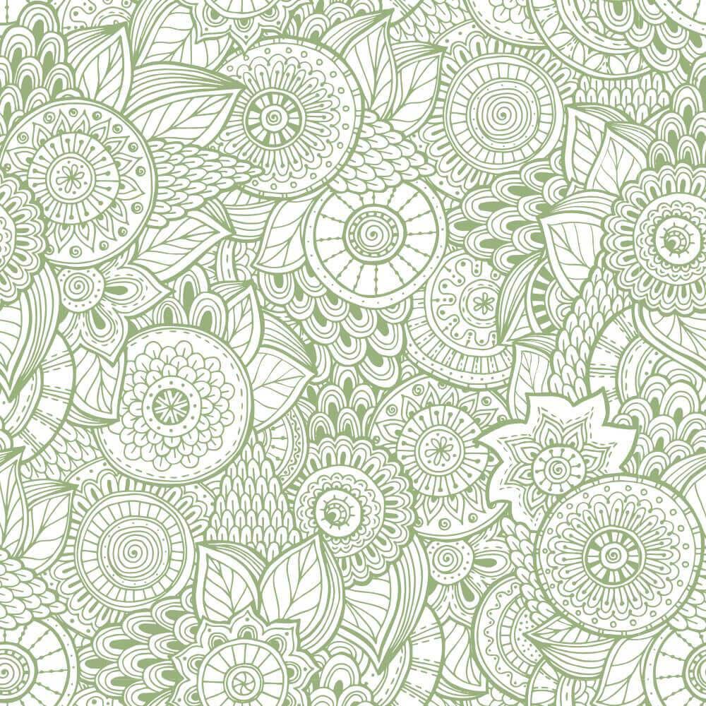Papel de Parede Floral Amazonas 1b