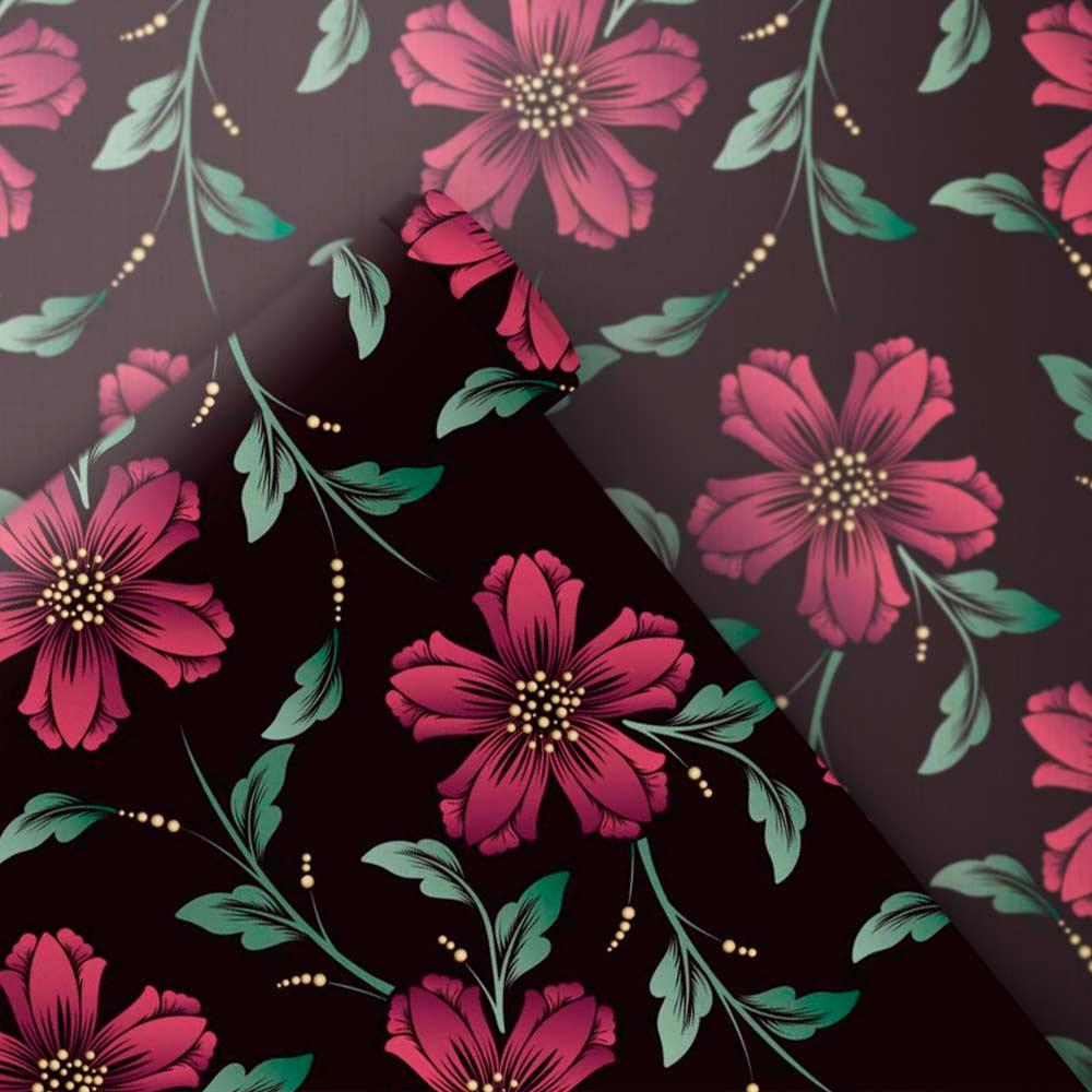 Papel de Parede Floral Cigano