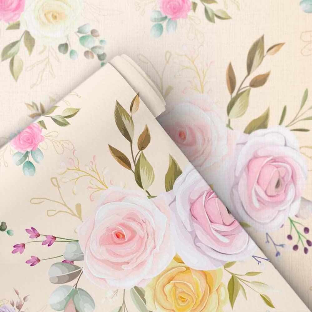 Papel de Parede Floral Encanto